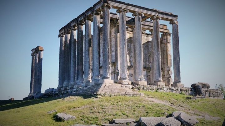 Dünya mirası Aizanoi'de binlerce yıl sonra 'taşlar yerine oturacak'