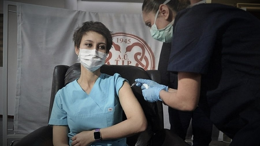 Çin'den gelen aşı, Ankara Üniversitesi'nde deneniyor